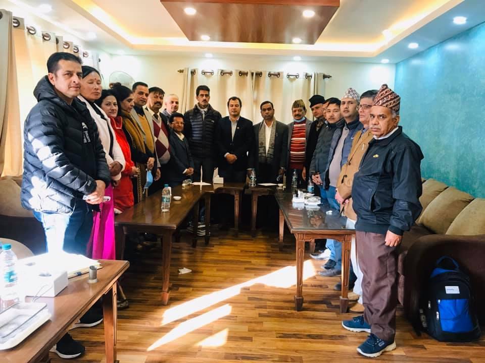 केन्द्रीय कार्य समितिको वैठक काठमाण्डौ